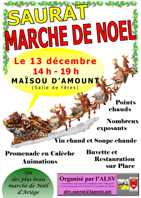 Marché Noël 2014