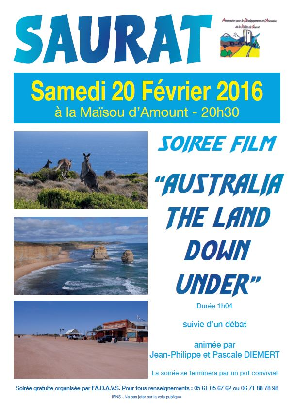 20-02-2016 SOIREE AUSTRALIE