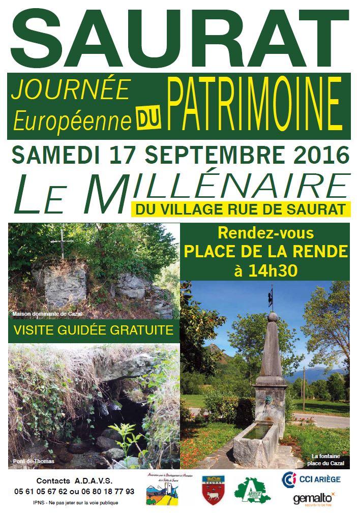 Journée patrimoine 17-09-2016