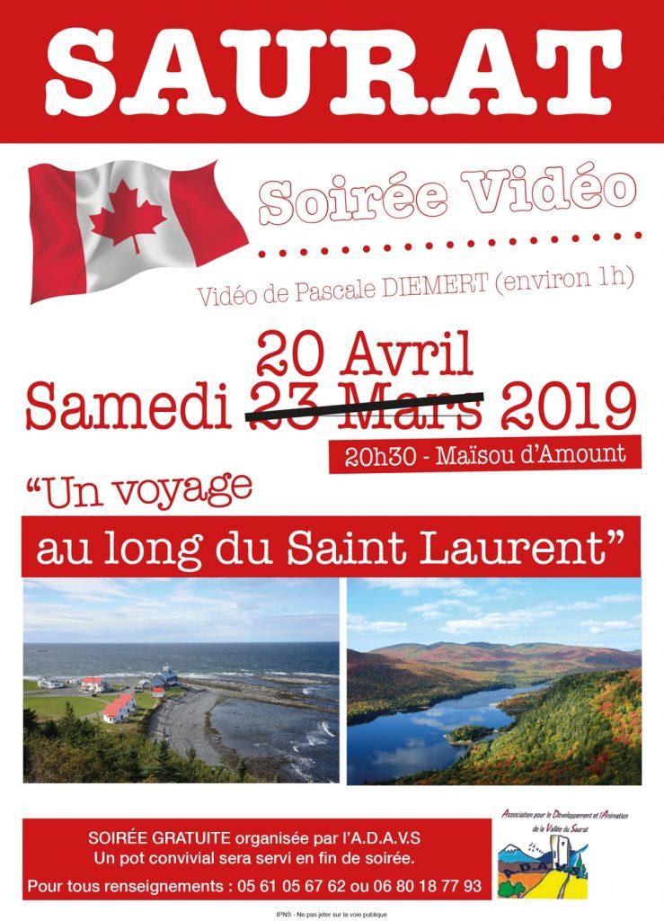 Au long du Saint Laurent - vidéo de Pascale Diemert