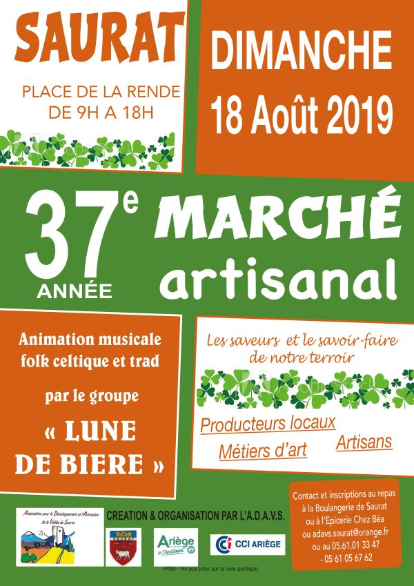 Marché artisanal aout 2019
